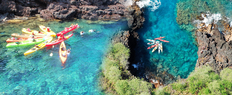 Kayaking Big Island Hi