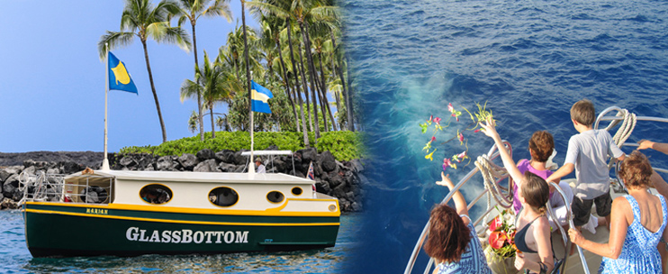 Kona Diving Company >> Kailua Bay Charter Co. - Glass Bottom Boat Cruise - Hawaii ...