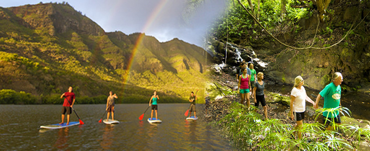 Product Stand-Up Paddle Board Tour