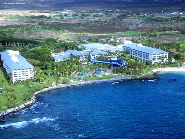 Blue Hawaiian Helicopters  Kohala Coast Adventure Waikoloa Heliport  Hawa