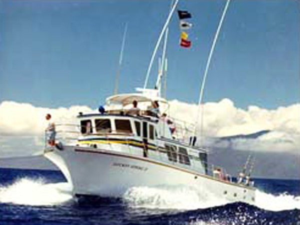 Maui deep sea fishing and sportfishing charters hawaii for Hawaii fishing charters