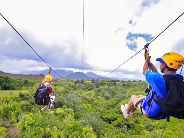princeville helicopter tours with Zip N Dip Expedition on Tiki Hut also 7 Spots You Can t Miss On Kauai furthermore Zipline Tours further Wailua Falls also Hanalei Church.
