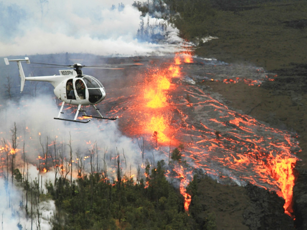 Paradise Helicopters Volcano And Kohala Landing Kona