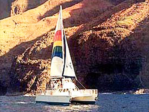 Blue Dolphin Charters - Deluxe Morning Na Pali Coast Tour ...