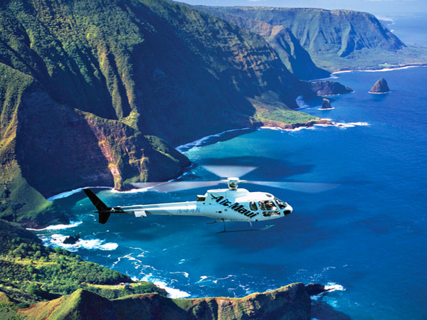 Molokai Helicopter Tour From Maui