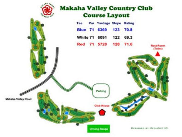 Makaha Valley Country Club - Hawaii Discount on honolulu neighborhood map, honolulu county map, pahoa map, kapaa map, kaha lani map, laie map, hawaiian paradise park map, north kohala map, lanikai map, waianae map, kahala map, sunset map, waipahu map, makawao map, mililani map, honolulu bus route map, hawaiian beaches map, pauoa valley map, punaluu map, aina haina map,