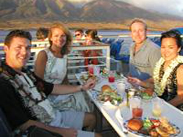 Pacific Whale Foundation Lahaina Sunset Dinner Cruise