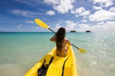 Oahu Kailua Kayaking Rentals - Single or Double Kayak Rentals
