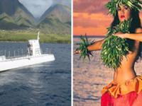 Maui Atlantis Submarines & Royal Lahaina Luau Combo - Hawaii Discount