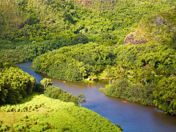 Oahu To Kauai Waimea Canyon And Wailua River Hawaii Discount