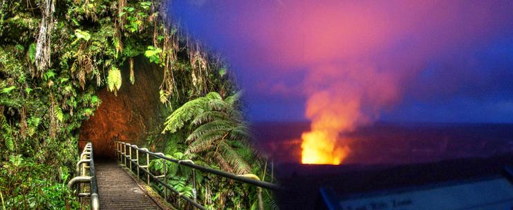 Wasabi Tours Big Island Twilight Volcano Tour Hawaii