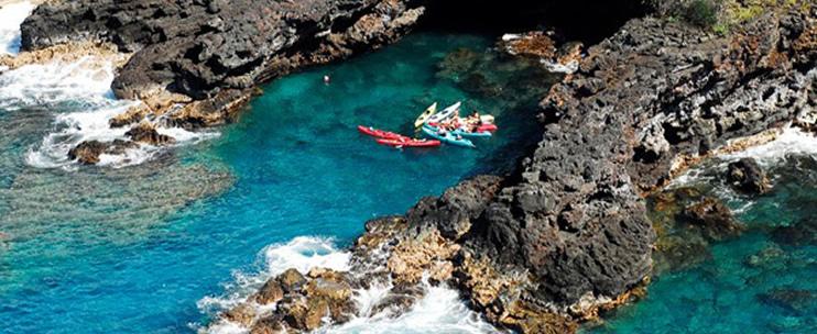 Kona Diving Company >> Ocean Safaris Kayak Adventures - Hawaii Discount