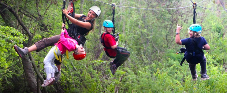 Coral Crater Adventure Park - Full Zipline Tour - Hawaii