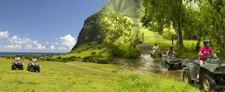 Kualoa Ranch - 1 Hour ATV Tour - Hawaii Discount on h-1 freeway map, valley of the temples map, bellows air force station map, halona blowhole map, old pali road map, oahu map, kaaawa valley map, waimea valley map, kona airport map, honolulu map, kailua map, iolani palace map, oregon convention center map, polynesian cultural center map, parker ranch map, kingdom of hawaii map, chinaman's hat map, niihau map, hawaii convention center map,