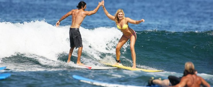 Surfing Lessons In The Big Island