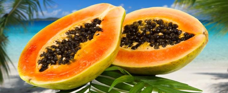 Hawaii Papayas Shipped To The Mainland Us 10 Pound Box