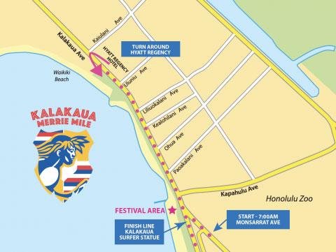 Kalakaua Merrie Mile Hawaii Discount Events
