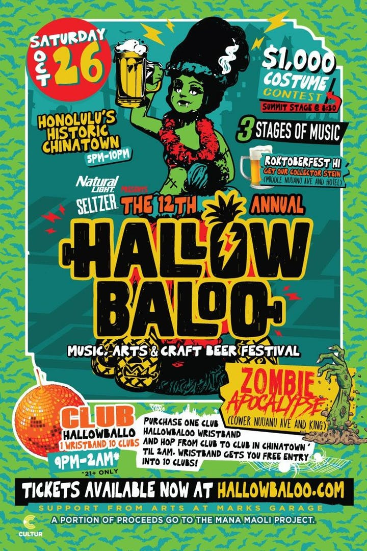 Hallowbaloo 2019: Music, Arts And Craft Beer Festival
